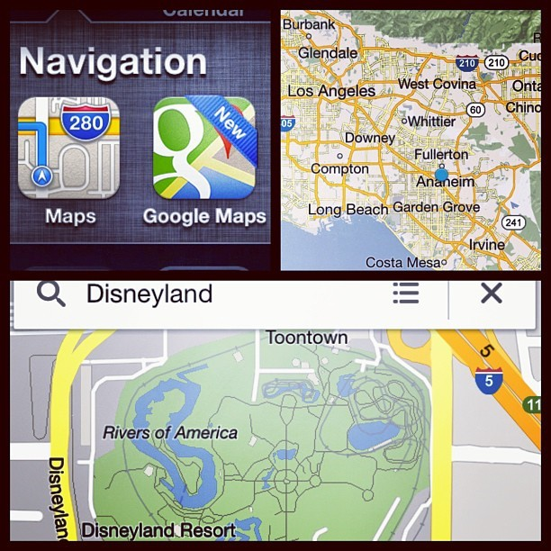 Google Maps is back on the iPhone !!! #GoogleMaps #iOS #google #apple #maps #app #instagood