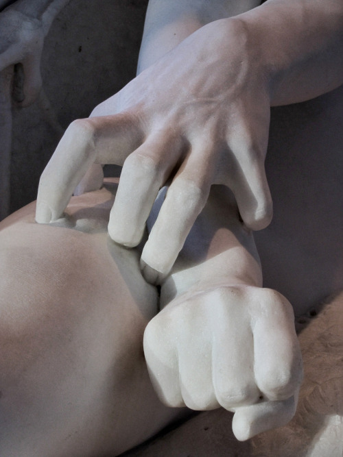 Tense Hands at the Brooklyn Museum by Matt Carman