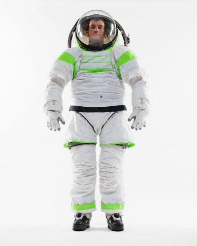 explore-blog:  NASA's new Buzz-Lightyear-inspired spacesuit. Complement with the fascinating design history of the first Apollo spacesuit.