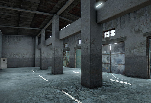 inner side of the new building in dayz