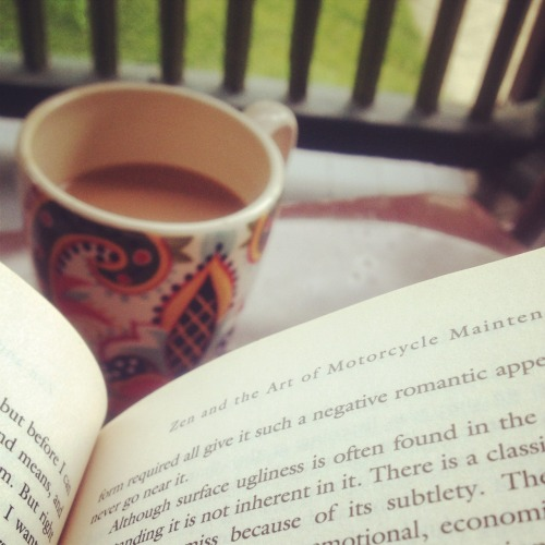 There's nothing I love more than mornings on my porch .