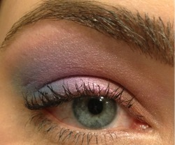 Playing around with my Stila Countless Color Pigments
