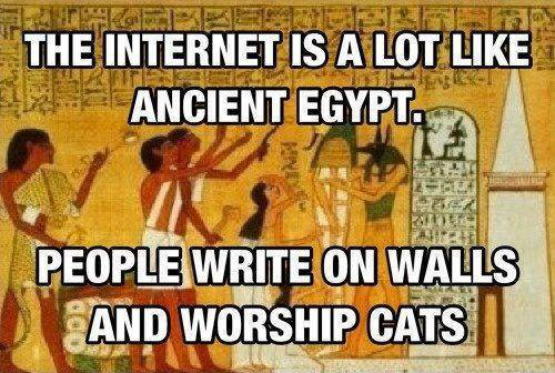 richardthecat:  I wish the humans in my home would go to Egypt — and stay there.
