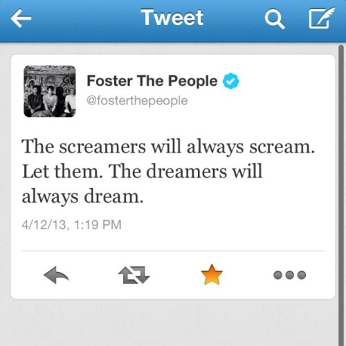 Another #markfoster quotes #fosterthepeople #quote