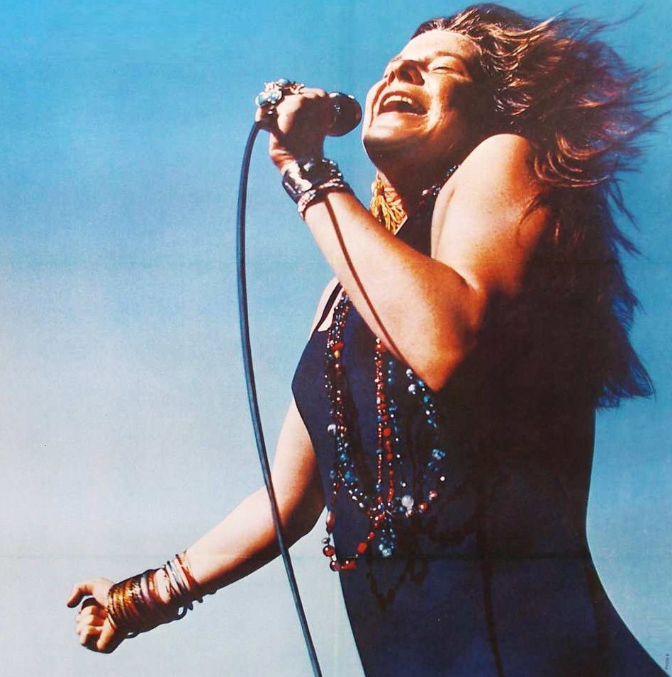 Janis Joplin by Jim Marshall. 1968.
