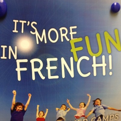 Everything is more #fun in #french.  💋  (at Alliance Francaise)
