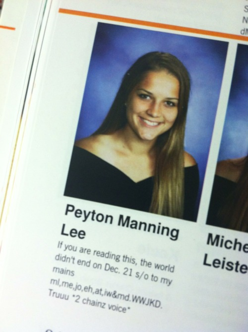 thatsmoderatelyraven:  Who is this girl in my yearbook I think she's a model