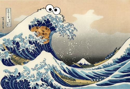 Sea is for cookie.
