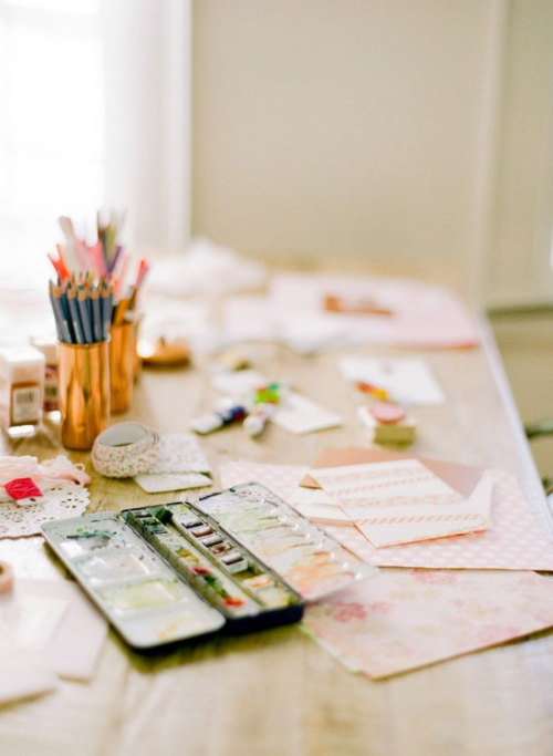 bjornsrandoms:  {Today's hump day happy place is a place of creativity and colour. Happy Wednesday!}