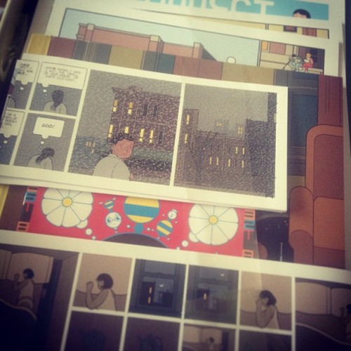 Yee ha. Chris Ware building stories time.
