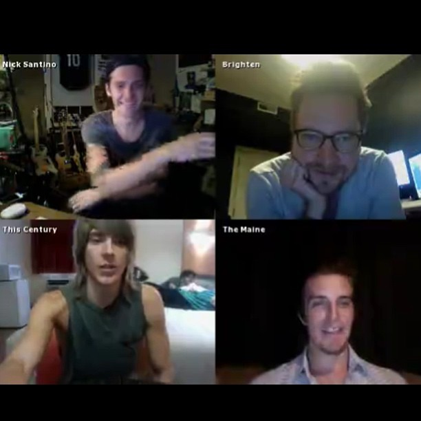 themainepat:  This is happening right now! Head to Facebook.com/themaine and click on the spreecast tab to watch the chat!