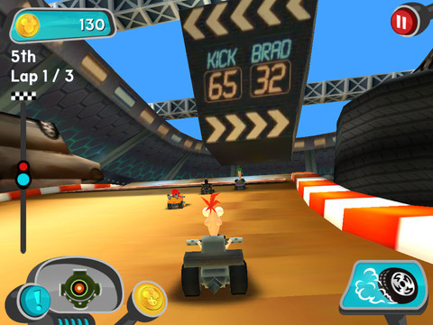 """Disney Super Speedway"" Game Launches on iPhone, iPad and iPod touch"