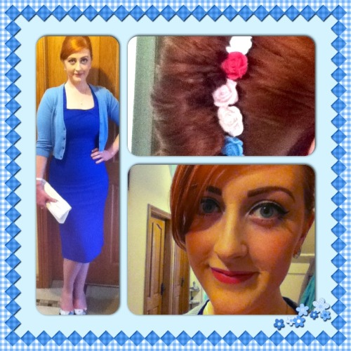 Last night's outfit for Lynsey and Paul's wedding 💙