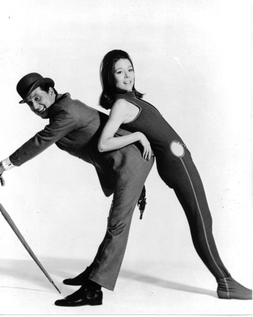 Steed & Mrs Peel a bit like the Rumours album cover there's something slightly disturbing about this picture