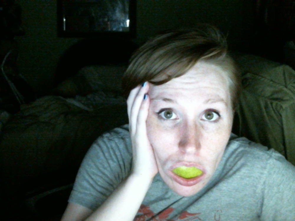 A midnight pear for a midnight bedtime. goodnight internet.