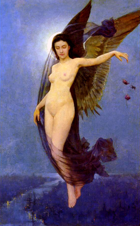 cauldronandcross:  Night Nymph Robert Van Vorst Sewell 1887