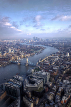 travelingcolors:  London from the Shard | England (by Mariusz Kluzniak)
