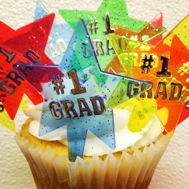 It's graduation time people (at Cupprimo Cupcakery & Coffee Spot)