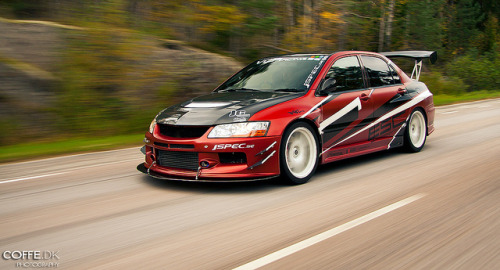 akeikas:  Mitsubishi Lancer Evo VIII Time Attack by coffe.dk on Flickr.