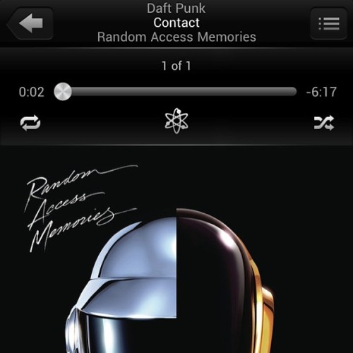 Words cannot describe how truly happy I am at this moment.  #daftpunk #ram #music
