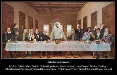 Scientist Last Supper