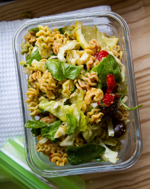 Lemon Herb Pasta Salad