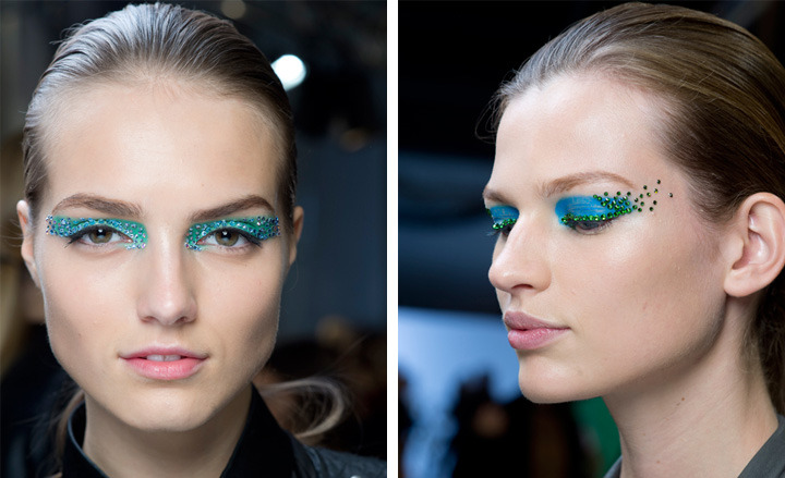 Grooming trends: Paris Fashion Week S/S 2013 Love this look by Pat McGrath for Dior.