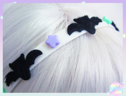 violentpirate:  ♥ Bat Headband - $8 ♥