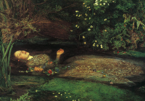 astrid-84:  Ophelia by John Everett Millais