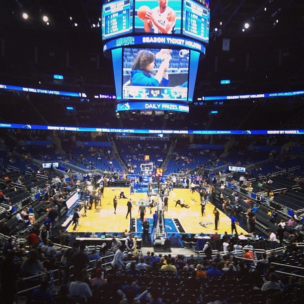 #NBA #orlando  (at Amway Center)
