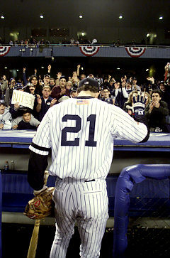 Paul O'Neill. 2001 World Series.