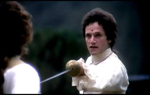 the dueling scene… well, one of the dueling scenes from 'barry lyndon.'