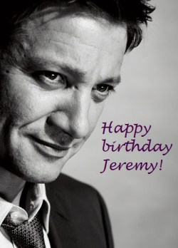 mistressrenner:  Happy birthday dear Jeremy Renner!