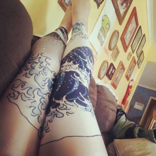 thechocolatebrigade:  Leggings.
