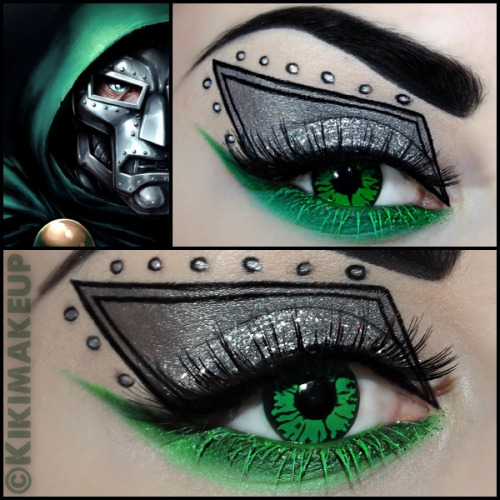 kikimakeup:  Doctor Doom! Destroyer of Worlds!