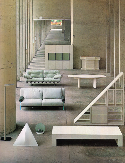 aqqindex:  Aldo Rossi, Furniture, 1981