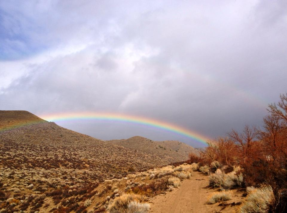 One thing we love about#Nevada: rainbows