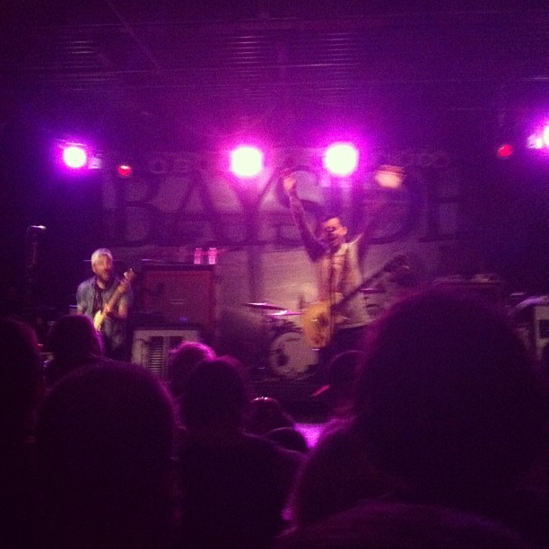 The amount of love I have for #bayside , hell of a show.
