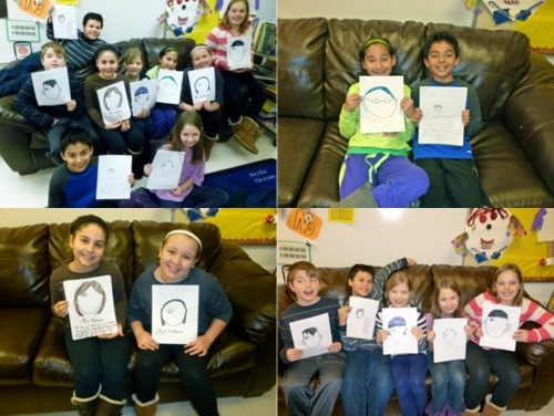 The fourth graders at Westfield Elementary School in Glen Ellyn, IL wrote their own chapters of WONDER!