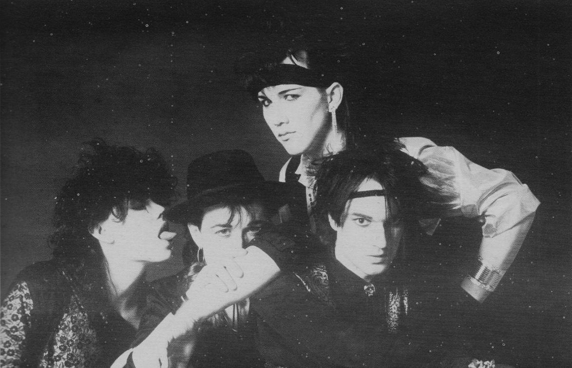 Marquee Moon, magazine scan, mid 80s MM is featured in Some Wear Leather, Some Wear Lace.