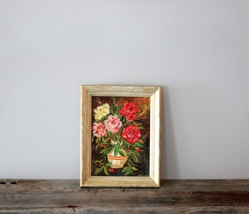 (via Vintage Flower Painting Uncovet)