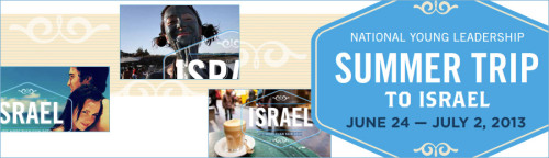 Jewish Federations of North America's National Young Leadership Summer Trip to Israel