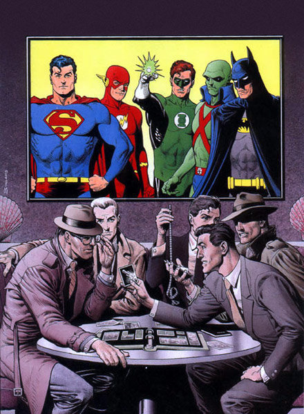 1989's Secret Origin Collection Cover by Brian Bolland