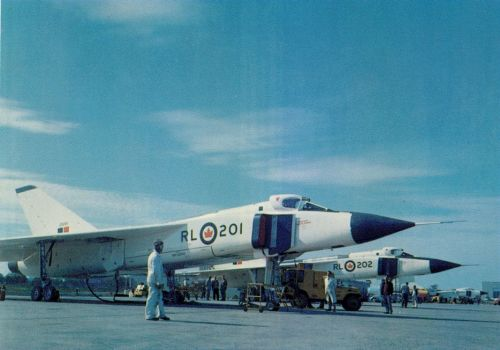 What Might Have Been…The Avro Canada Arrow: Image #2 RL-201 and RL-202, the first two Arrow prototypes