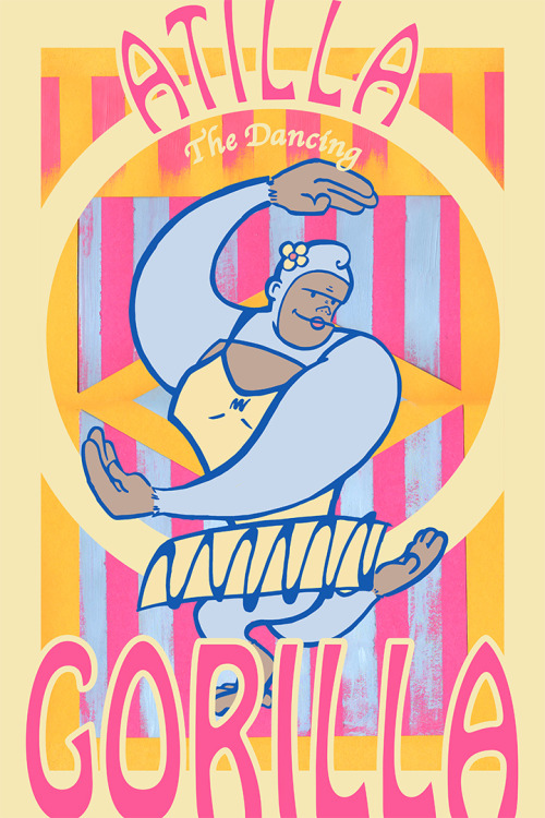 Atilla Gorilla (2013)  She has a name!  Just having fun today. c: