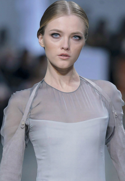 Vlada Roslyakova at Stephane Rolland Haute Couture Spring 2013.