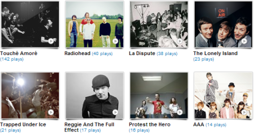 NO LAST FM, I DIDN'T LISTEN TO TOUCHE AMORE THAT MANY TIMES. STOP MAKING ME LOOK LIKE A DOUCHE.