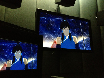 bryankonietzko:  Being at a color correction session for Book 2 today reminded me that I kicked off this blog a year ago this week with a snapshot of Korra from a Book 1 color correction session. A year later and I'm still behind in all my work, you're all still mad the show is not out yet (which, please understand, is akin to being mad at a tree for not growing apples fast enough), and Korra is still a badass.  Thanks for caring enough to be mad and for following this blog! Love, Bryan  *squeals savagely*