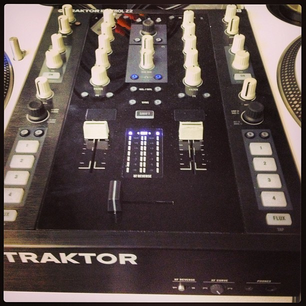 So we finally meet. #traktor