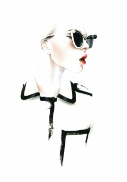 chanel fashion illustration SS2013 António Soares fashion illustrator
